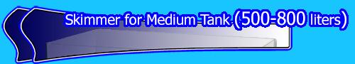 Skimmer for Medium Tank (500-800 liters)