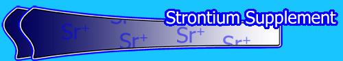 Strontium Supplement