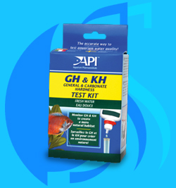 API (Tester) GH&KH Test Kit (90 tests@10dKH)
