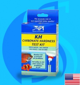 API (Tester) Carbonate Hardness Test Kit (90 tests@10dKH)