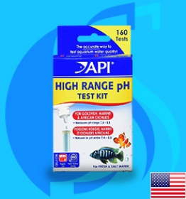 API (Tester) pH High Range Test Kit (160 tests)