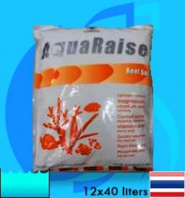 Aquaraise (Salt Mixed) Reef Salt Enhanced Formula Salt   12x1.5 kg