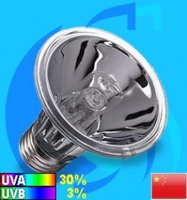 Boshi (Reptile Lighting) Halogen Lamp UVA & UVB E27 100w (4000k)