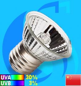 Boshi (Reptile Lighting) Halogen Lamp UVA & UVB E27  25w (4000k)