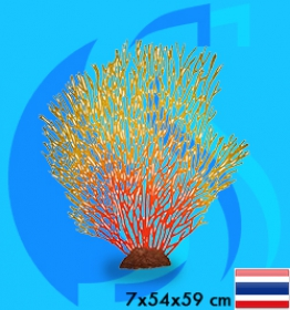 SeaSun DreamMagic (Decoration) Sea Fan YellowRed FAN-04-YR