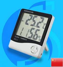 Huixia (Thermometer) Humidity Thermometer Clock HTC-1