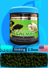 New Life Spectrum (Food) AlgaeMax Medium 250ml (125g)