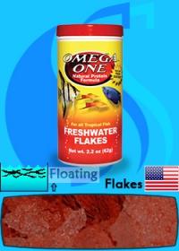 Omega One (Food) Freshwater Flakes 500ml (62g)