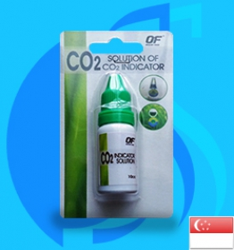 Qian Hu (Co2 Indicator) OceanFree Solution of Co2 Indicator 10ml