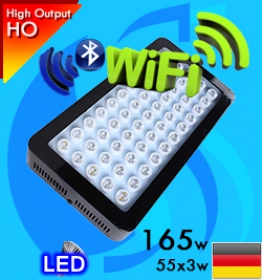 Sanrise (LED Lamp) AquaSanrise SL-A004-I 165w Wifi Reef (Suitable 16-36 inc)