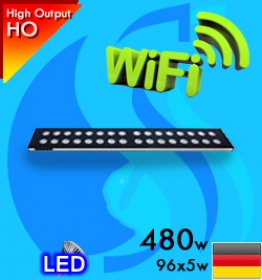 Sanrise (Led Lamp) AquaSanrise Plus R120 480w Wifi Reef (Suitable 48-60 inc)