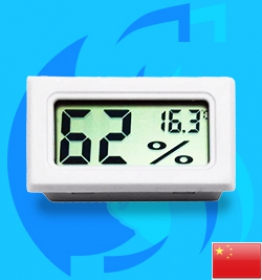 SeaSun (Accessory) Inside Cage Digital Hygrometer and Thermometer