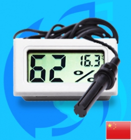 SeaSun (Accessory) Outside Cage Digital Hygrometer and Thermometer