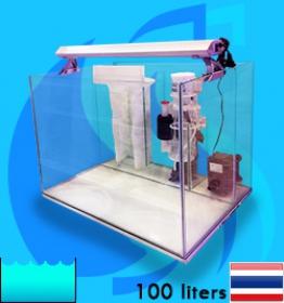 SeaSun (Aquarium Tank) MarineSetKit Nano-100L (24x18x18 inc)