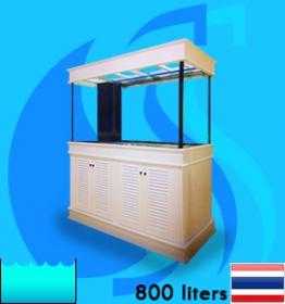 SeaSun (Aquarium Tank) Beaty White Coat BW-800L (72x24x30 inc)