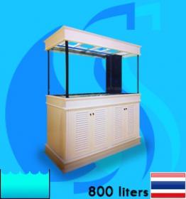 SeaSun (Aquarium Tank) Beaty White Coat BW-800R (72x24x30 inc)