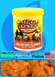 Omega One (Food) Goldfish Flakes 250ml (28g)