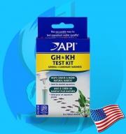 API (Tester) GH&KH Test Kit (90 tests@10dKH)
