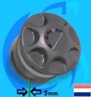 Bakker Magnetics (Cleaner) Mag-Float Acrylic&Glass 460 R (5mm)