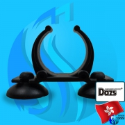 Dazs (Accessories) Holder Suction Cup Black 30-35mm