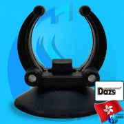 Dazs (Accessories) Holder Suction Cup Black 22-28mm