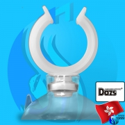 Dazs (Accessories) Holder Suction Cup White 20mm