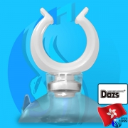 Dazs (Accessories) Holder Suction Cup White 16mm