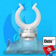 Dazs (Accessories) Holder Suction Cup White 12mm