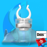 Dazs (Accessories) Holder Suction Cup White  7mm