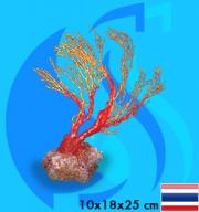 SeaSun DreamMagic (Decoration) Sea Fan YellowRed FAN-10-YR