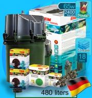 Eheim (Filter System) Classic 1500XL Set B (2260) (2400 L/hr)(65w)