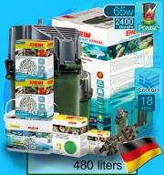 Eheim (Filter System) Classic 1500XL Set C (2260) (2400 L/hr)(65w)