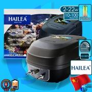 Hailea (Air Pump) AC/DC Air Pump CPA-100 (2x3000 L/hr)(22w)(AC/DC)