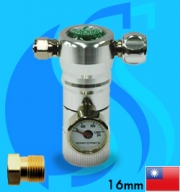Ista (Co2 Regulator) Acu-Dose Pressure Regulator I-586 (G5/8 Type)
