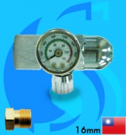 Ista (Co2 Regulator) Pressure Regulator Face Right I-698 (G5/8 Type)