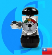 Ista (Co2 Regulator) Aluminium Co2 Flow Regulator I-589 (G5/8 Type)