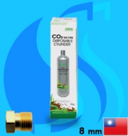 Ista (Co2 Set) 95g Disposable Co2 Cartridge 600ml (3/8UNF Type)