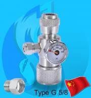 SeaSun (Co2 Regulator) Aluminium Co2 Regulator (G5/8 Type)