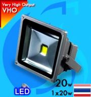 No Name (LED Lamp) VHO LED Flood Light 20w Blue (Suitable 8-16 inc)