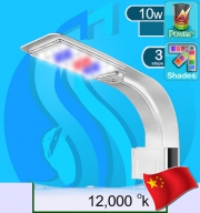 No Name (LED Lamp) Gebo Clip-on LED T-400 W-12000k 10w (Suitable 8-20 inc)