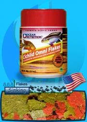 Ocean Nutrition (Food) Cichlid Omni Flakes 500ml (70g)