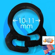 PetLife (Accessory) PetLifeElite PlasticHoseClamp PHC-11B (10-11mm)