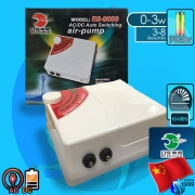 RS-Aqua (Air Pump) RS-8000 (2x240 L/hr)(3w)(AC/DC)