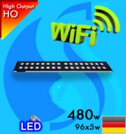 Sanrise (Led Lamp) AquaSanrise Plus R120 480w Wifi Reef (Suitable 48-60 inc)