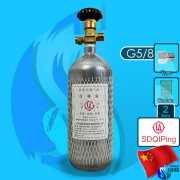 Sdqiping (Co2 Cylinder) Steel Co2 Cylinder 2000ml (G5/8 Type)
