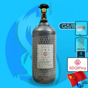 Sdqiping (Co2 Cylinder) Steel Co2 Cylinder 4000ml (G5/8 Type)