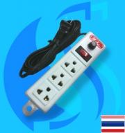 SeaSun (Accessory) Power Plug 3ch 3m (10A)