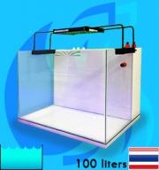 SeaSun (Aquarium Tank) ReefSetKit Nano-100L (24x18x18 inc)