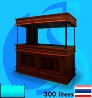 SeaSun (Aquarium Tank) Beaty Oak Coat BO-300L (48x20x20 inc)