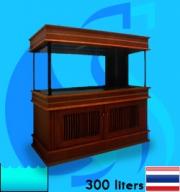 SeaSun (Aquarium Tank) Beaty Oak Coat BO-300R (48x20x20 inc)